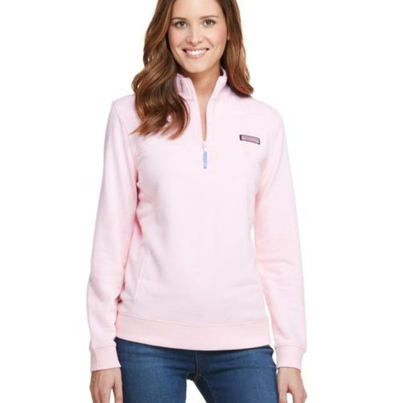 Vineyard Vines Jackets & Blazers - EUC Vineyard Vines Shep Pullover pink sz small